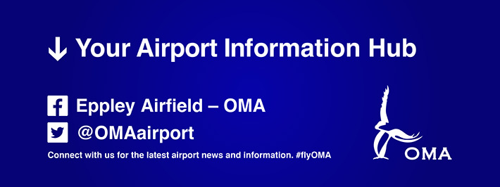 Your Aiport Information Hub. Facebook and Twitter