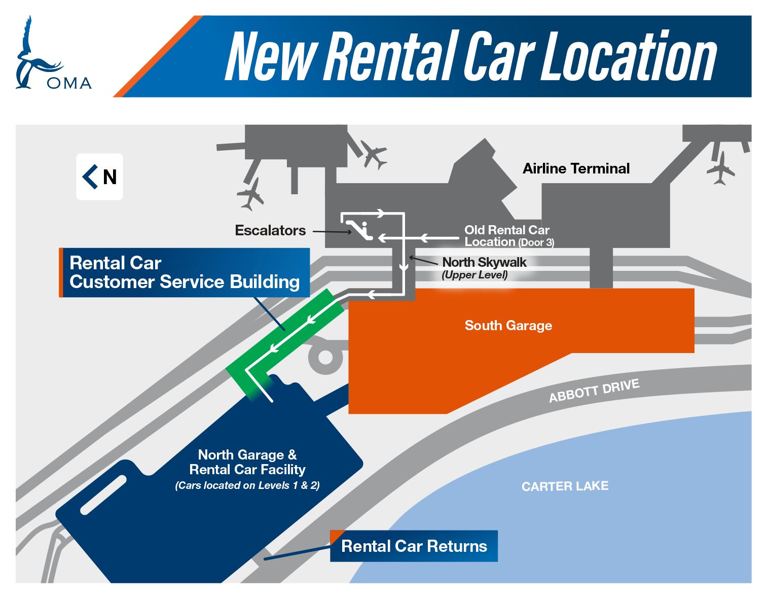 Rental Cars – OMA Omaha Eppley Airfield