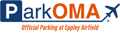 ParkOMA Official Parking at Eppley Airfield.
