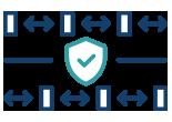 An icon representing TSA checkpoints